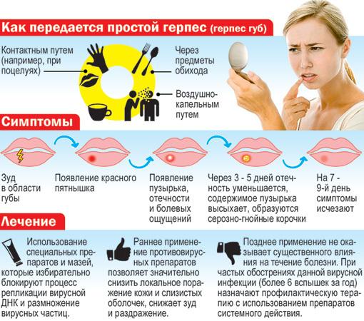 Herpes simplex - что это за вирус и как можно заразится