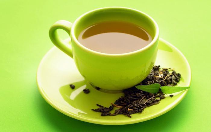сорта зеленого чая с мятой