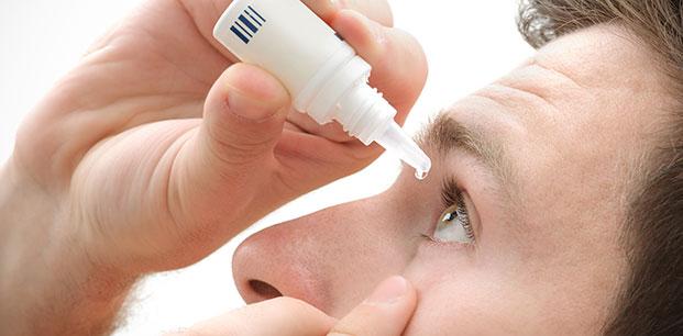 использование антигистаминных глазных капель
