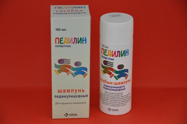 педикулицидный шампунь
