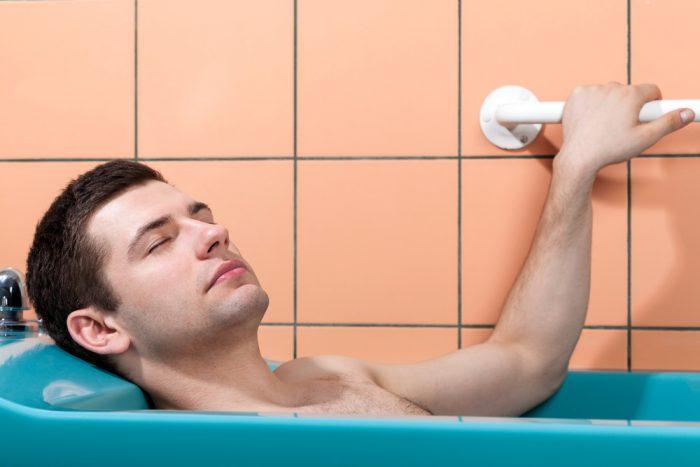 применение лечебных ванн