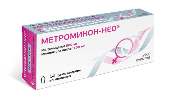 препарат метромикон-нео
