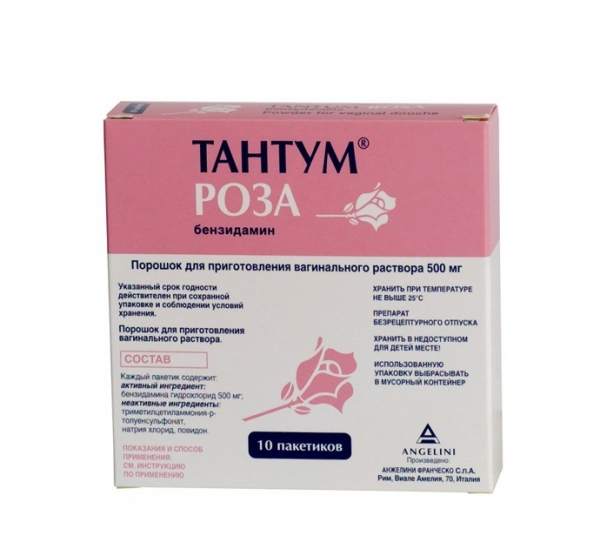 препарат тантум роза