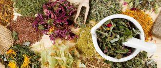травяные сборы для местного применения