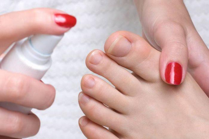 грибок стопы и ногтя