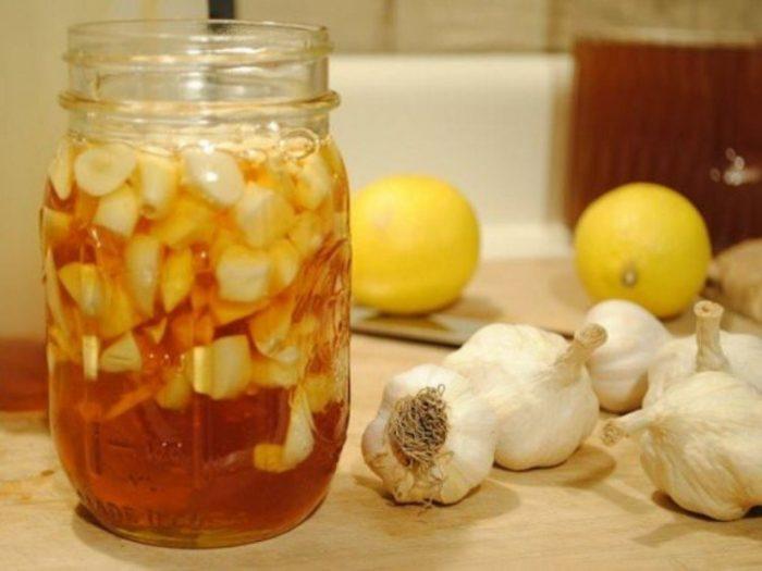 чеснок и яблочный уксус