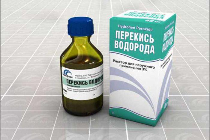 лечение молочницы с помощью перекиси водорода