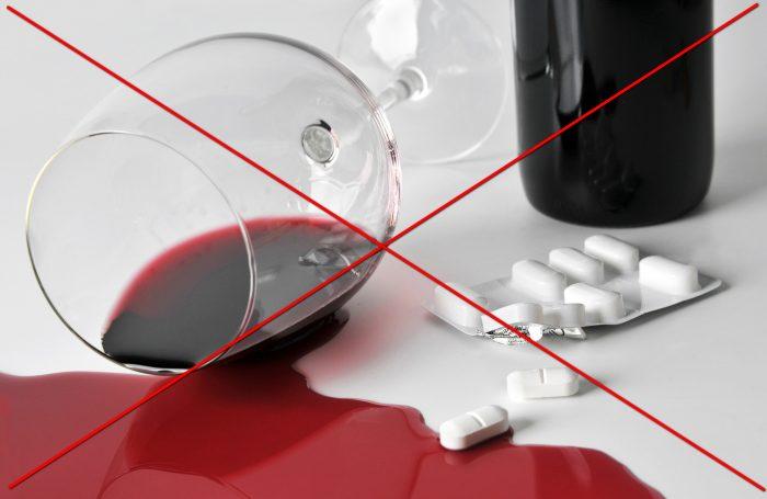 алкоголь и вагинальные таблетки