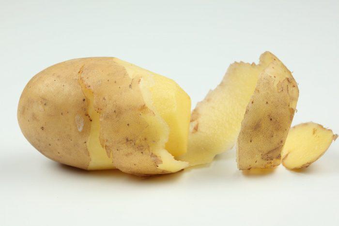 использование картофельной кашицы