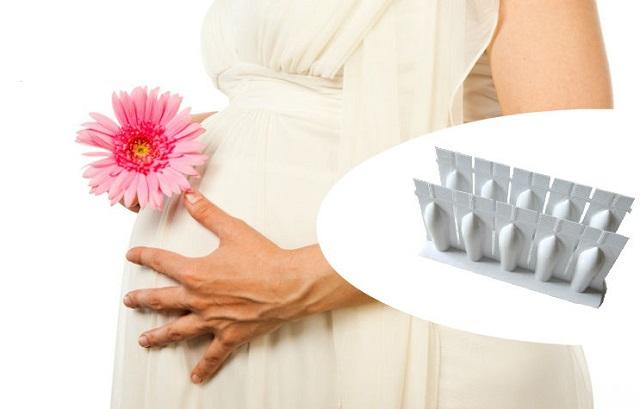 применение свечей от грибка во время беременности