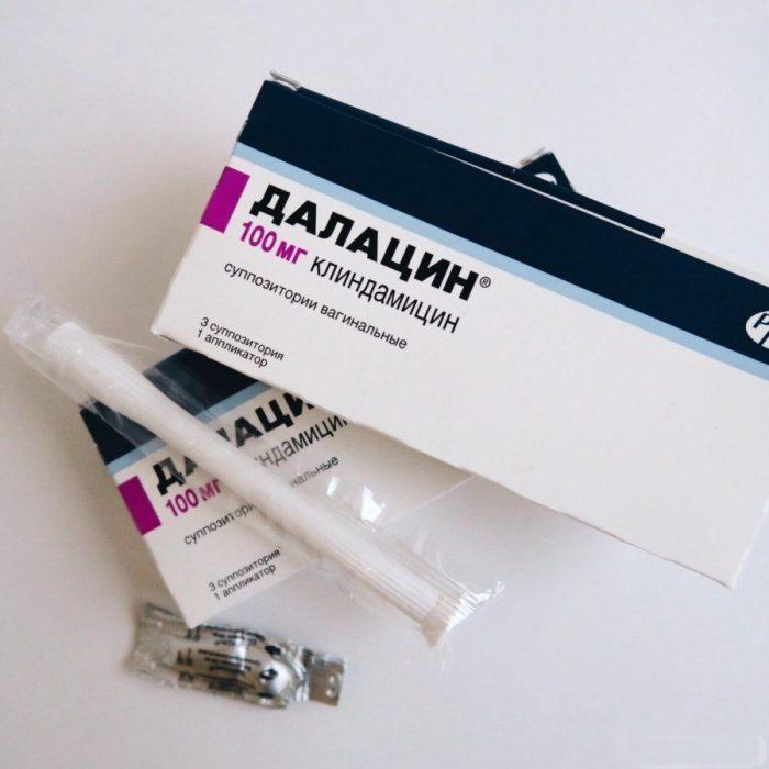 Далацин гель от молочницы