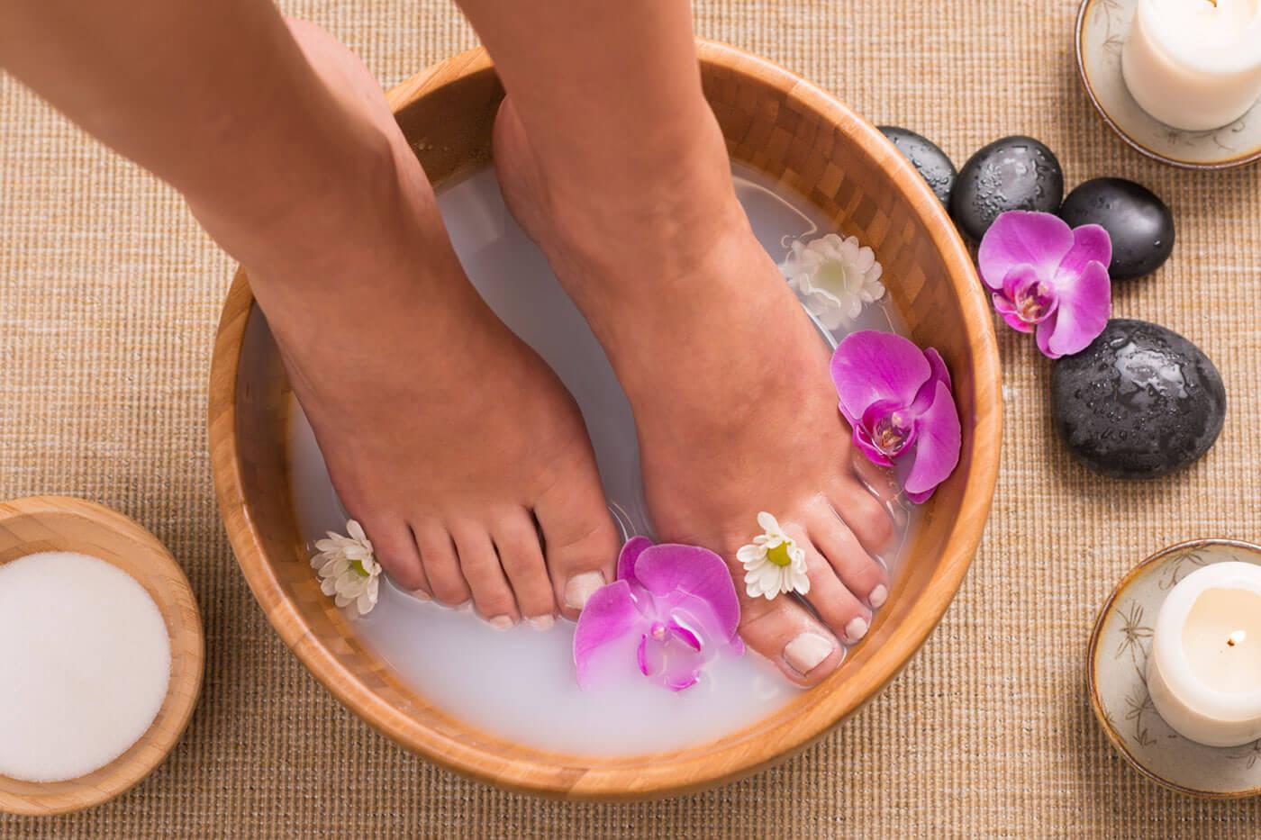 Содовые ванны для ног от грибка