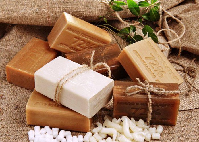 хозяйственное мыло в лечении папиллом