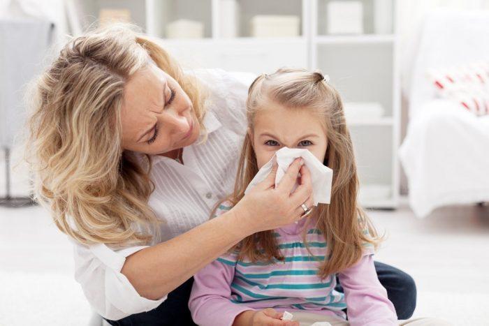 аллергические риниты у детей