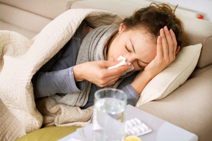 резкое снижение иммунитета
