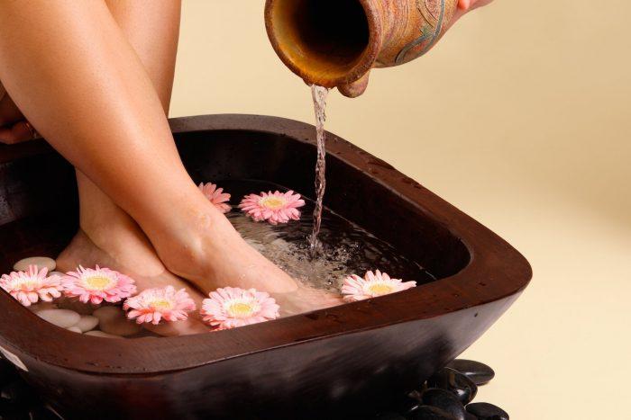 ванночки с добавлением лечебных трав