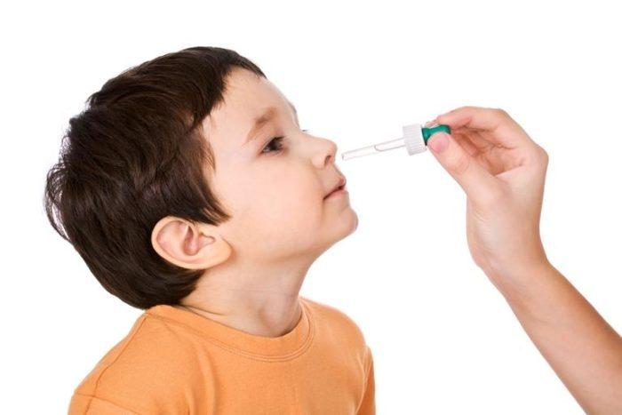 закапывать капли в нос в указанном количестве