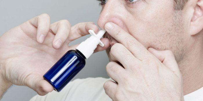 по 1-2 капли в каждую ноздрю