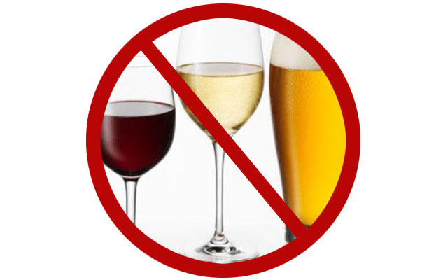 не употребляете алкогольные напитки