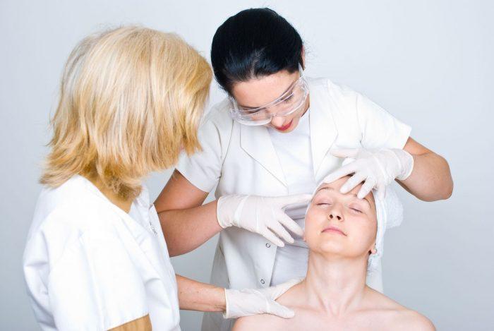 на прием к дерматологу