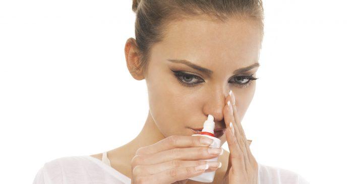 2 впрыскивания в ноздрю