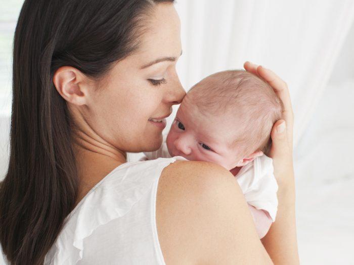 Родимое пятно у новорожденного: причины появления невуса
