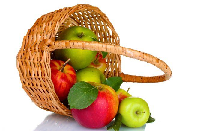 маска на основе яблок