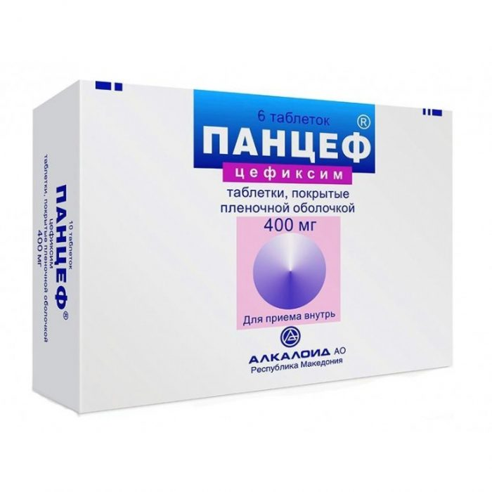 антибактериальное лекарство панцеф