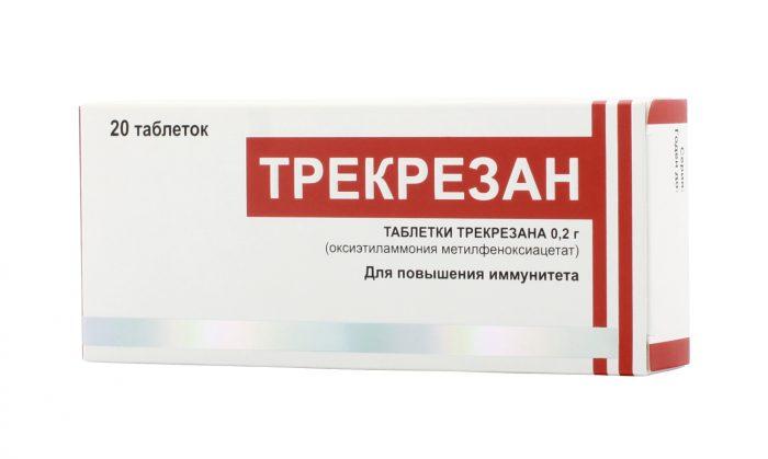 медикаментозный препарат трекрезан