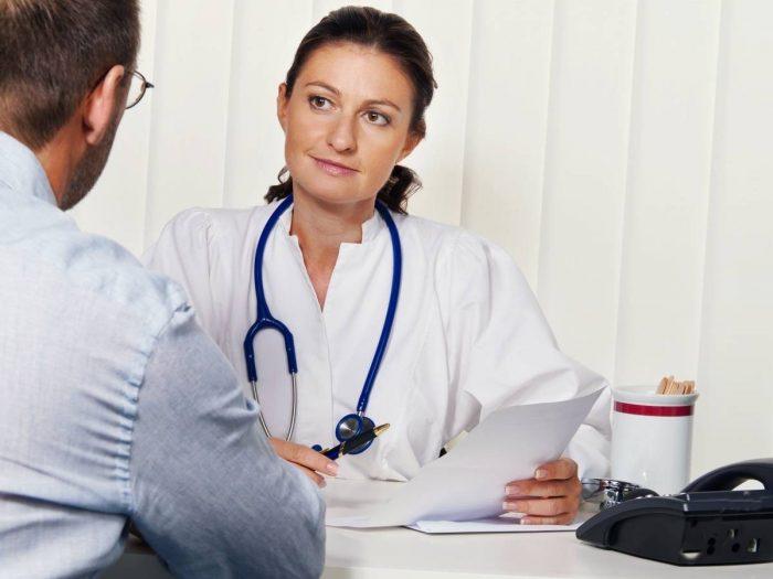 под наблюдением врача