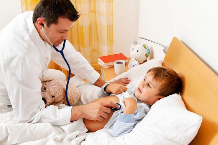 прием лекарства детям