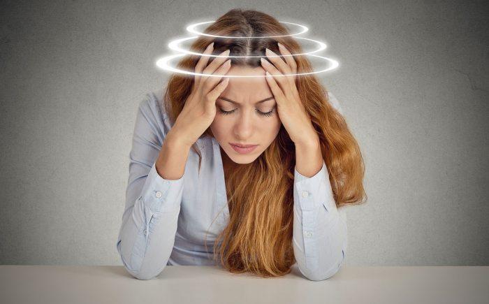 головокружения и слабость